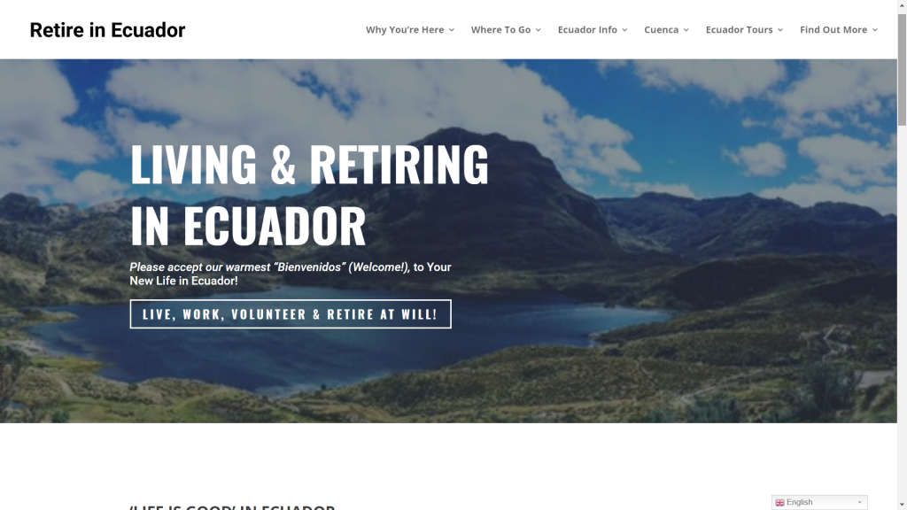 Retire in Ecuador (NEW)