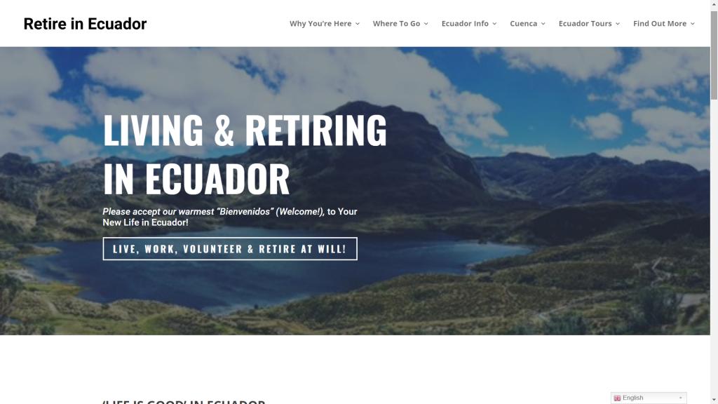 Retire in Ecuador (OLD)